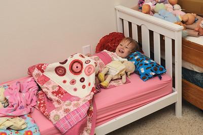 2010 - Kaylee's New Bed