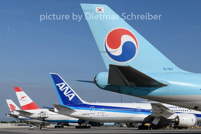 2019-05-07 HL7617 Boeing 747-8 Korean Air