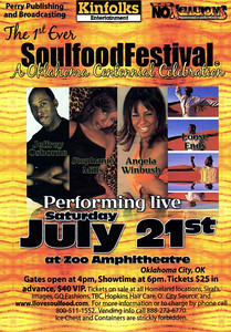 "The 1st Ever ""Soulfood Festival"" A Oklahoma Centennial Celebration July 21, 2007"