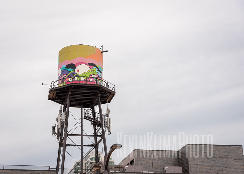 Water Tower Art