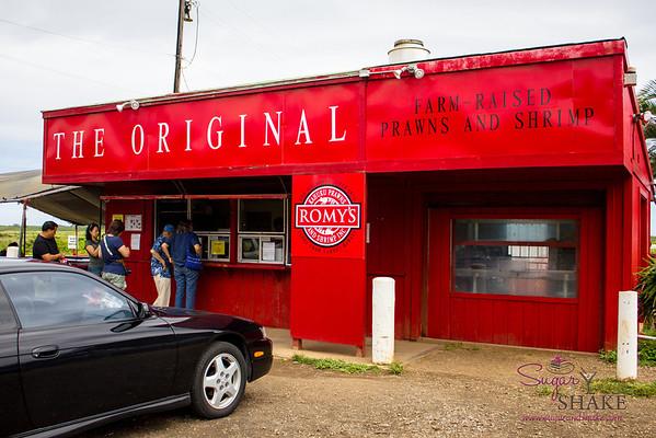 Romy's Kahuku Prawns & Shrimp. © 2013 Sugar + Shake
