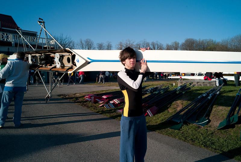 Baltimore Highschool Invitational Rowing Regatta - April 5, 2009