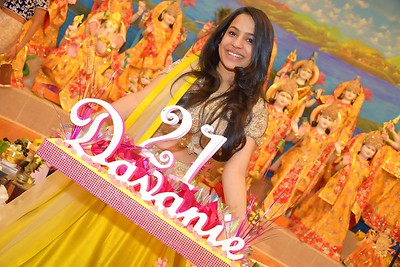 Davanie's 21st Birthday Pooja