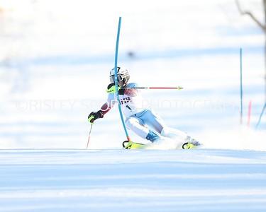 Girls Skiing MISL Slalom- January 29, 2020