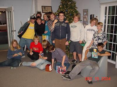 2004-12-04 Progressive Dinners
