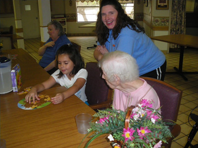 September 15th ~ Hillcrest Nursing Home Puzzle Play