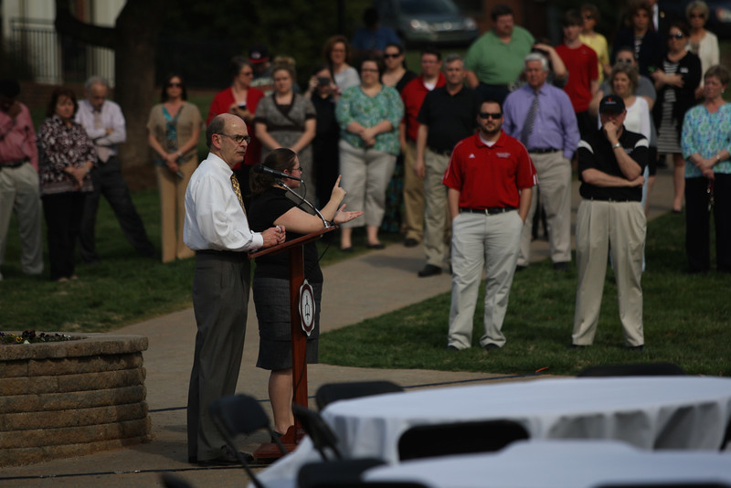 Gardner-Webb officially launched the new brand to the Bulldog student, faculty and staff Wednesday evening, April 2, 2014.