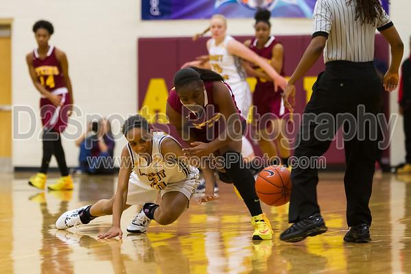 Adkins Camels vs Mount Tabor Spartans Women's Varsity Basketball 12/19/2014