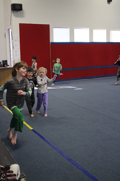 Lower School Gymnastics