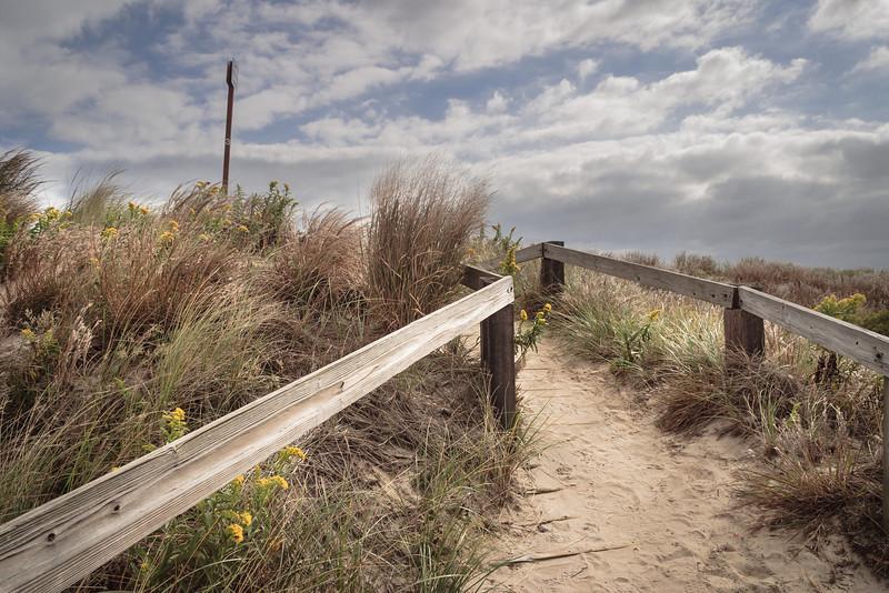 Dune crosswalk