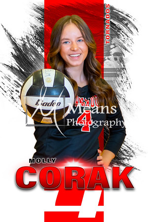 2021 Yelm Volleyball Senior Posters