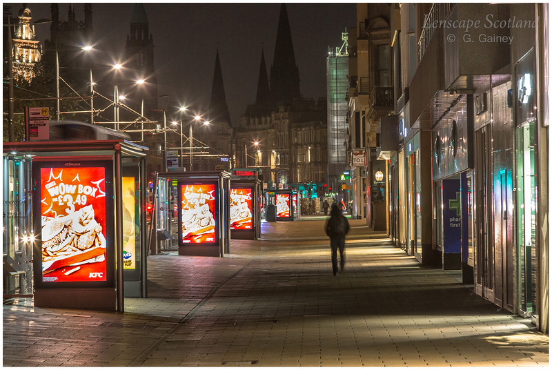 Princes Street, early morning (2)