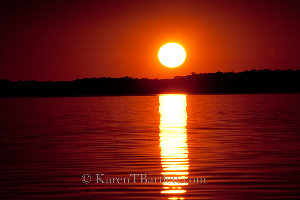 9153 Sunset in the Ten Thousand Islands