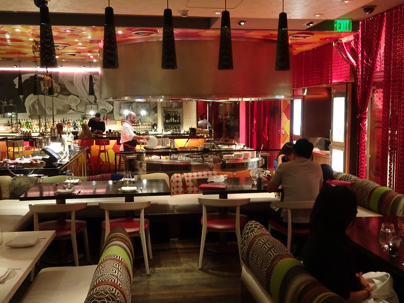 Lunching like a spaniard at Jose Andres.  Had their tapas lunch special.  All of it was excellent.