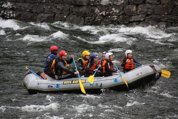 Rafting med Juniorgruppen juni 2015