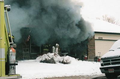 1221 W. Kettle Ave Fire