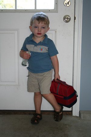 Cams First Day at School
