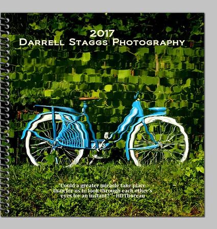 2017 Calendar desk planner