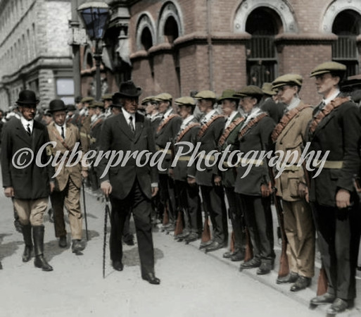 Coloured U.V.F and WWI 36th Ulster Div.