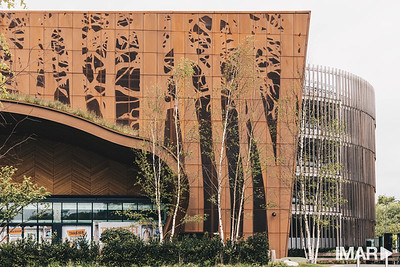 Imar Corten Perforated- Glasgow Fort