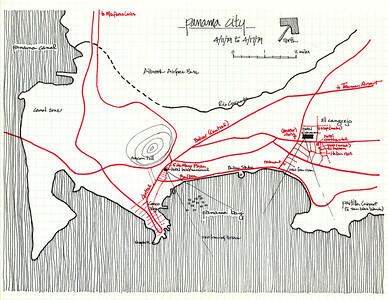 1979 - Panama - Fulbright Travels