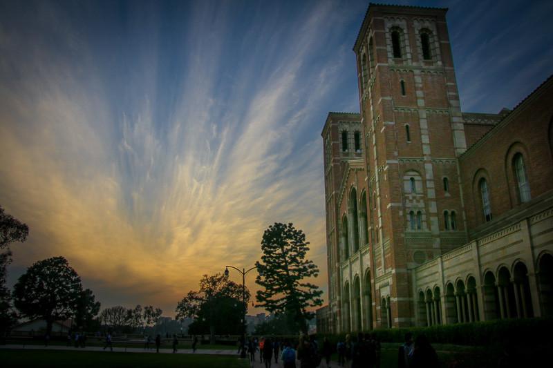 January 23 - Sunset over Royce Hall.jpg