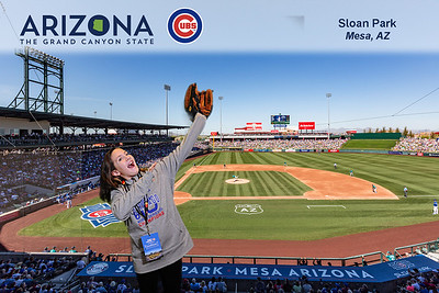Arizona Office of Tourism at Chicago Cubs Convention Friday