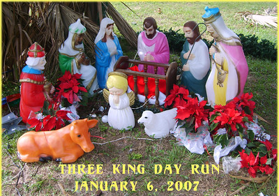Three King Day Run - Anthony House