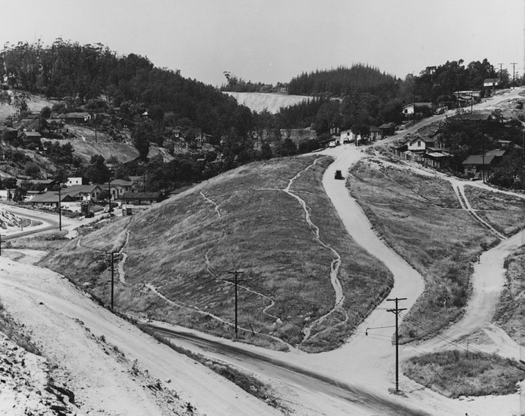 1950, Hilly Dirt Roads
