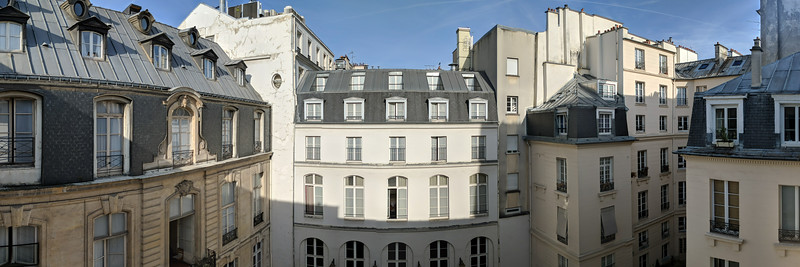 View from our Paris Hotel, Saint James Albany