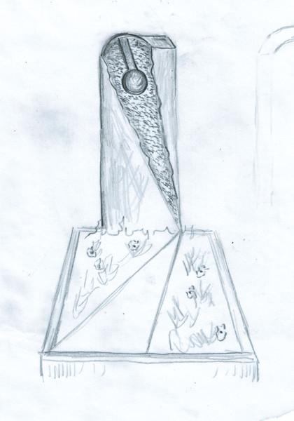 Entwurfszeichnung