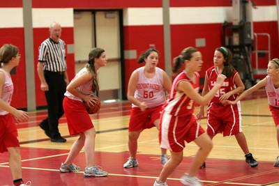 Girls MS Basketball 7B - 2009-2010 - 9/30/2009 Spring Lake