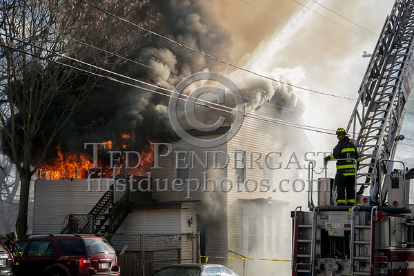 Lawrence MA - 3 Alarms on Hancock St