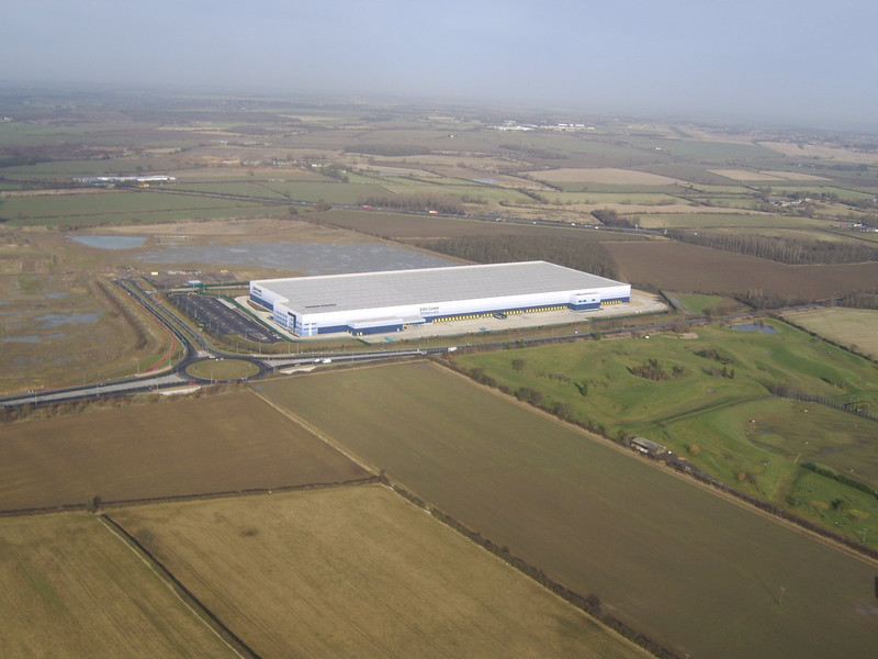 John Lewis Disribution Centre, Magna Park, Milton Keynes where I now work!!