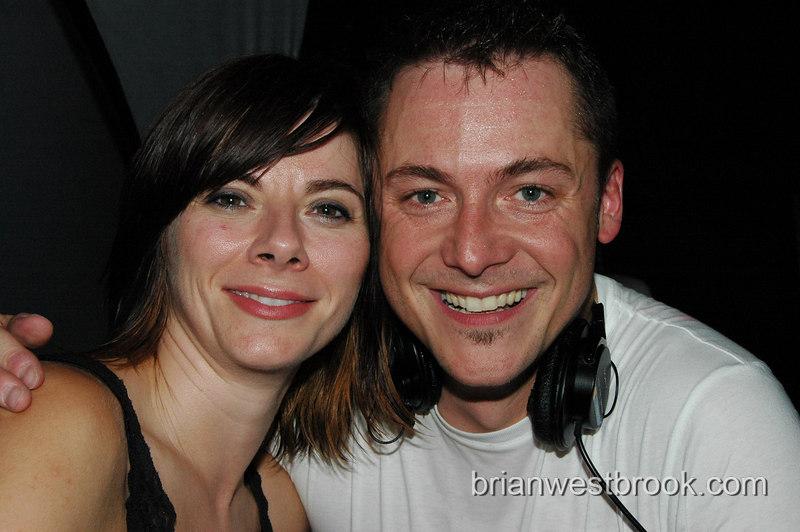 Abigail and DJ Brian Gorr