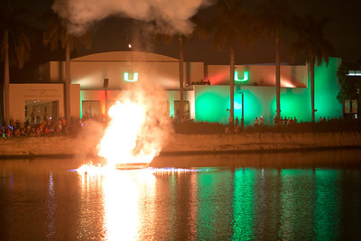Fireworks & Boat Burning-November 8, 2013