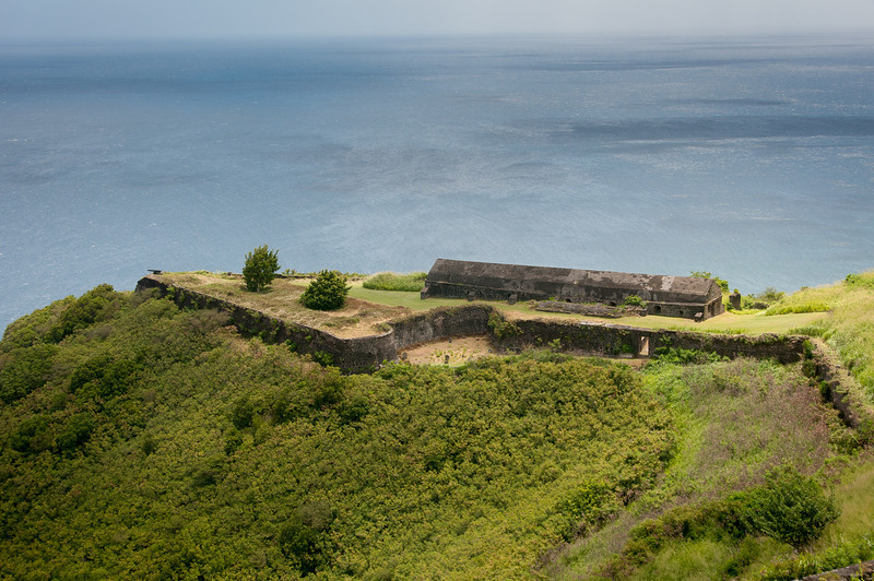 Brimstone Hill Fortress on St. Kitts