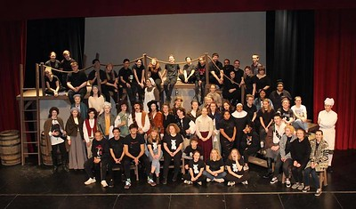 Lincoln High School One-Act troupe