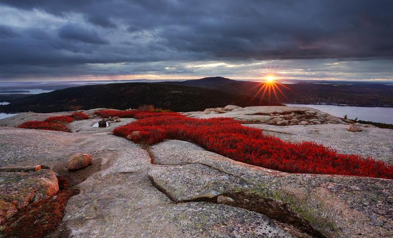 An Acadia National Park Mountaintop Experience