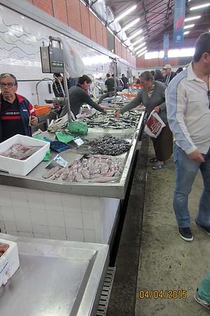 Indoor and outdoor markets, Olhao, Algarve [Vivienne]
