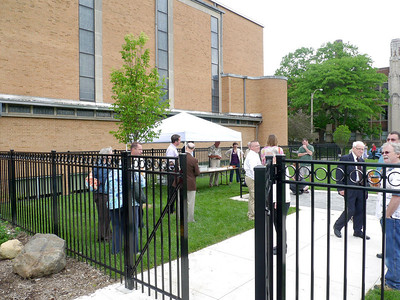 Dedication of the new Green Space area - June 2, 2013