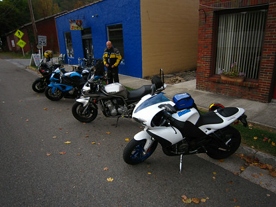 Fall motorcycle ride October 2013