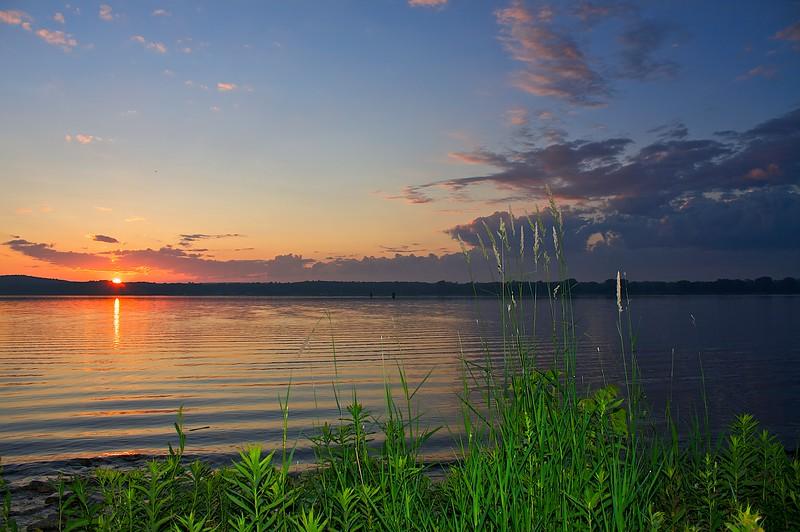 Sunrise Sturgeon Bay Wisconsin.