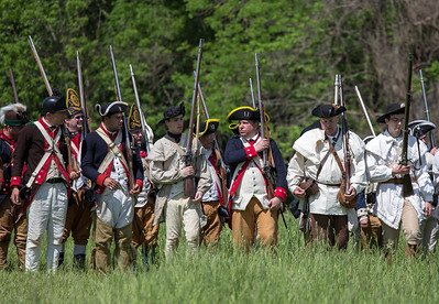 Battle of Brandywine at Sandy Hollow  5-18-14