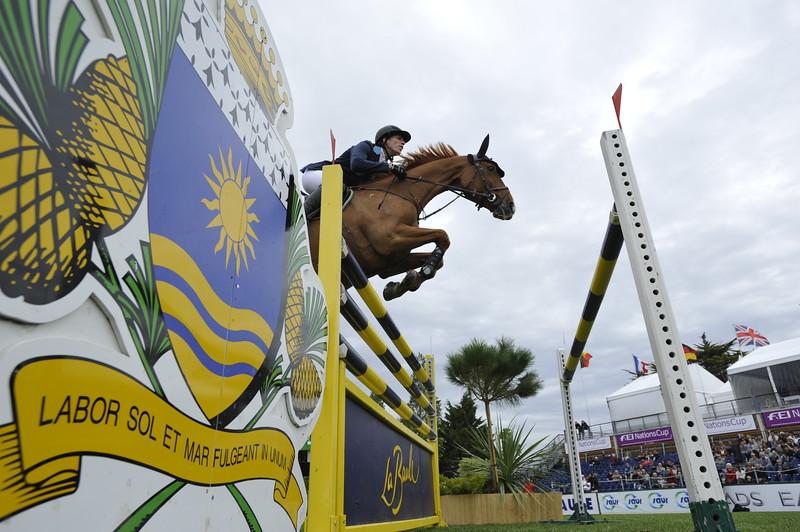 JUMPING : Henrik VON ECKERMANN - Allerdings COUPE DES NATIONS 2012 -  CSIO DE LA BAULE 2012 - PHOTO : © CHRISTOPHE BRICOT