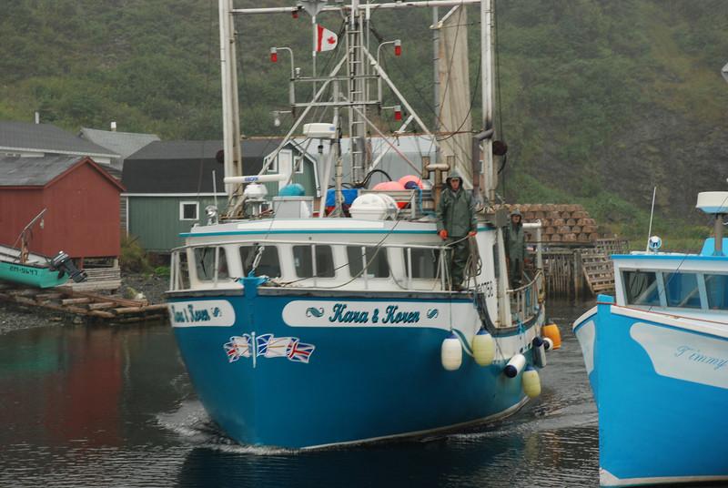 Retour de la pêche - Trout river, Terre-Neuve