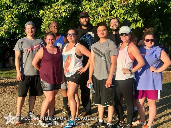 Sunday Night Summer 2018 Recesstime Portland Kickball
