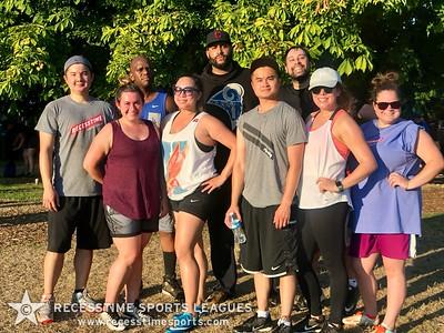 Sunday Night Kickball Summer 2018