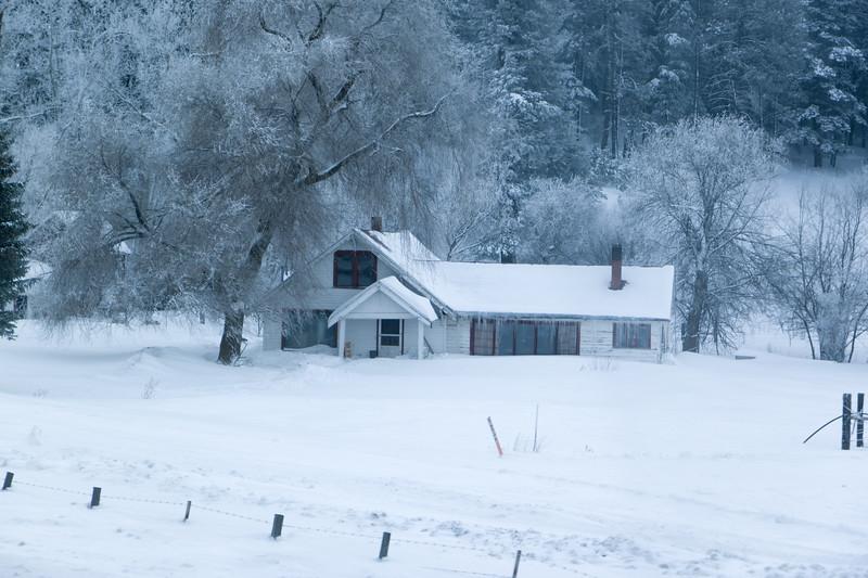 Frozen, I-84 Oregon