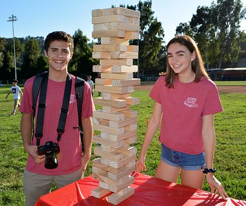 Fall Athletes Saluted at LCHS Tailgate Party